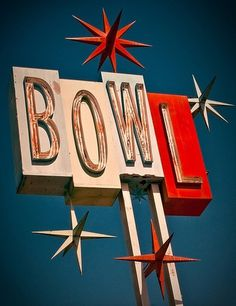 Typeverything.com - Premiere Lanes (by... - Typeverything #front #script #sign #bowling #store #photography #signage #typography