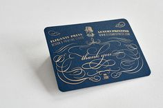 The Beauty of Engraving card 2