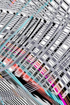 Roller Coaster Jim Keaton #design #algorithm #illustration #poster #art