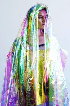 Colorful #colors #colours #colorful #woman #foil #fashion #photography #portrait