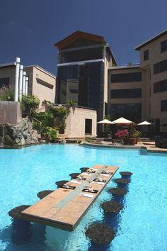 CJWHO ™ (Tribe Hotel – Nairobi, Kenya Tribe hotel is...) #amazing #kenya #africa #design #pool #architecture #nairobi #hotel #luxury