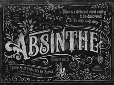 Absinthe by Mike Clarke #fairy #prohibition #hallucinating #alcohol #liquor #playing #trippy #decks #absinthe #cards #green