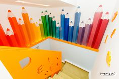 Dental clinic for children with a gorgeous design Dent Estet 4 Kids - Hamid Nicola Katrib - www.homeworlddesign. com (13) #design #interiors #clinic #dental #kids
