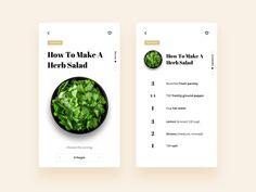 #design #layout #recipe