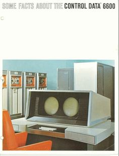 Some facts about the Control Data 6600 | Computer History Museum #brochures #computers #1960s