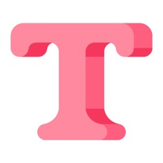 See more icon inspiration related to type, font, text, art and design, lettering, edit tools, text tool, letter t, format, edit, write and typography on Flaticon.