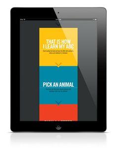 ABC iPad App on Behance #step