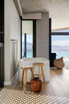 bathroom, Overberg, South Africa / SAOTA