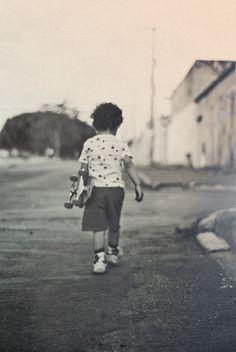 All sizes | Livre | Flickr - Photo Sharing! #kid #retro #photography #skate #skateboard
