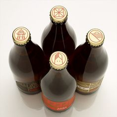 Fort Point Beer Bottles #beer #cap #package #bottle