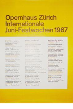 Josef Müller-Brockmann JUNI-FESTWOCHEN 1967 [ 128CM X 90CM ] via www.blanka.co.uk
