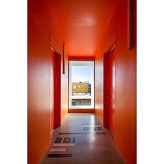 #interiors #color #modern #signage #wayfinding photo by J.C Buck