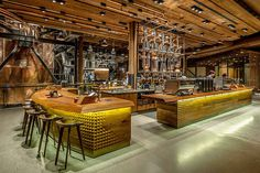 starbucks, interior, seattle #starbucks #interior #seattle
