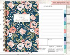 calendar, print, flower, pattern
