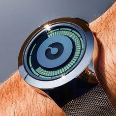 Silver Saturn Watch by Ziiiro #cool gadget #gadget #gadget flow #gift ideas #tech