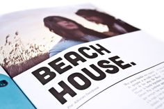 Editorial. 04 #mag #print #design #issues #type #editorial #magazine