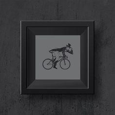 Illustration inspired in Johnny Walker whisky. #johnnywalker #artwalls #cycling #fixie ##fixiedgear #illustration #bikelife #drawing