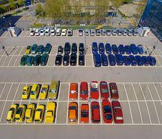 ursis-10.jpg 600×514 pixels #color #neat #cars #tidy #organized