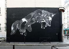 IdN™ Creators® — Philippe Baudelocque (Paris, France) #art #mural #fox #street