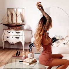 Likes | Tumblr #sexy #tattoo #girl #morning