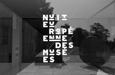 European Night of Museums 2014 #museums #2014 #typography