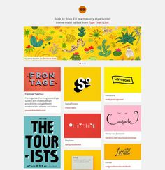 Brick by Brick Tumblr Theme #slideshow #tumblr #portfolio #design #theme #web