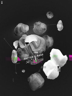 2 notes #branding #scientific #matter #brand #mass #poster #logo #atom #science