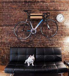 The Black Workshop #interior #design #bike #deco #decoration