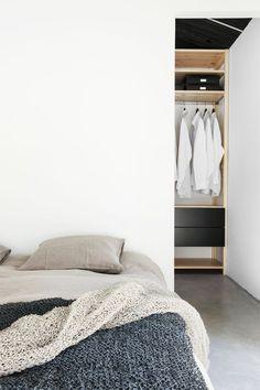 Bedroom @ Deko's house. #bedroom #wardrobe