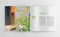 Greenspan SIPS brochure #brochure #design  #cover #print