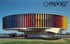 1960s | WANKEN - The Art & Design blog of Shelby White #expo #montreal #67 #architecture