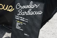 Crowder Barbecue #icon #branding #typography