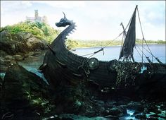 pathfinder on the Behance Network #stone #water #pathfinder #castle #photography #colors #sea #art #nature #ship #forest #light