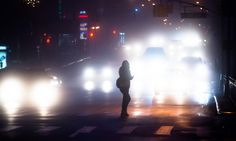 dear in a headlights. | Flickr Photo Sharing! #city #people #night #streetlights #cars #light
