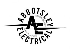Abbotsley Electrical Rebrand by Karl Wills #mark #karl #wills #design #graphic #logo #typography