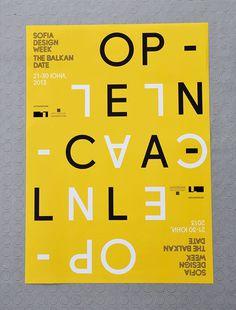 Sofia Design Week 2013 on Behance #ivaylo #visual #four #identity #nedkov #poster #sofia #designweek #plus