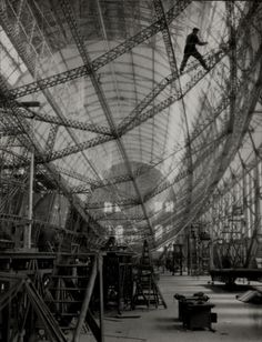 Skeleton of Graf Zeppelin - we make money not art