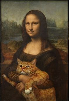 urban taster | a quick (almost daily) taste of the urban landscape #mona #cat #meme #art #lisa