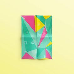 GNRATION on Behance #id #flyer #color #poster