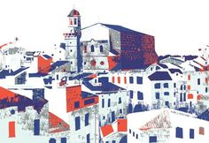 FFFFOUND! | Menorca Screen Prints : alice stevenson #screenprint