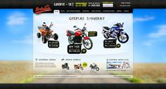 Borba Gato Motos #wordpress #theme #webdesign