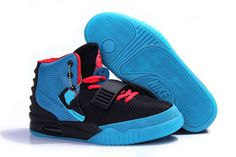 "NRG Yeezy 2 Shoes (Women Size) Black Blue and ""Solar Red"" (Detailed Look) #shoes"