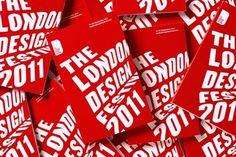 Pentagram #red #print #design #book #brochure #typography