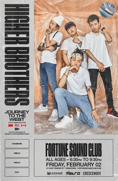 88 rising: Higher Brothers Poster
