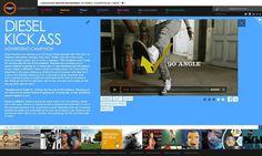Adlatina - ignacio fretes #site #adlatina #design #web