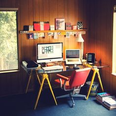 campsite | ben barry #barry #ben #macintosh #workspace