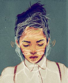Sarah Gonzales #inspiration #illustration #portrait