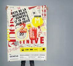 NEO NEO | Graphic Design | Fête de la musique #print #design #graphic #typography