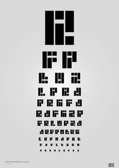 Coded Typeface on Behance