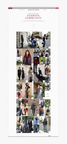 Martin Silvestre - Uniqlo & Comptoir des cotonniers - moidemoiselle plume #ui #website #fashion #layout #eshop